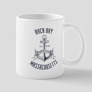 Back Bay, Boston MA Mug
