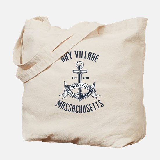 Bay Village, Boston MA Tote Bag