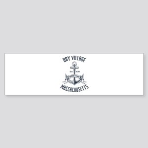 Bay Village, Boston MA Sticker (Bumper)