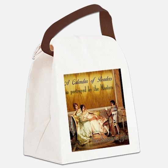 2015 Calendar of Readers Canvas Lunch Bag