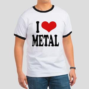 I Love Metal Ringer T