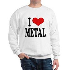 I Love Metal Sweatshirt