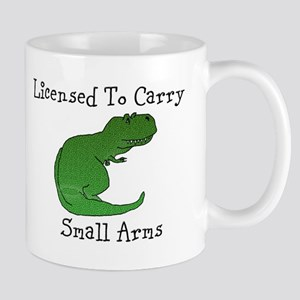 T-Rex - Licensed To Carry Small Arms Mugs