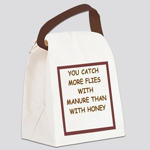 manure Canvas Lunch Bag