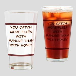 manure Drinking Glass