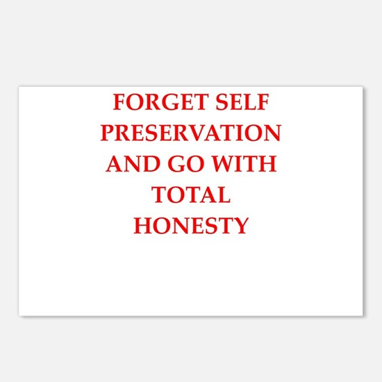 honesty Postcards (Package of 8)
