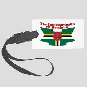 Commonwealth D Ribbon Large Luggage Tag