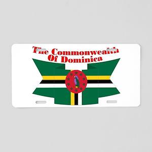 Commonwealth D Ribbon Aluminum License Plate