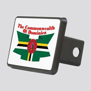 Commonwealth D Ribbon Rectangular Hitch Cover