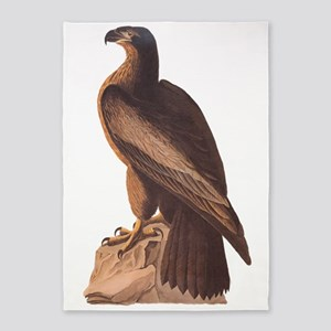 Juvenile Bald Eagle 5'x7'area Rug