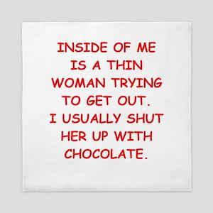 chocolate Queen Duvet