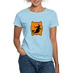 Black and Orange Halloween Witch T-Shirt