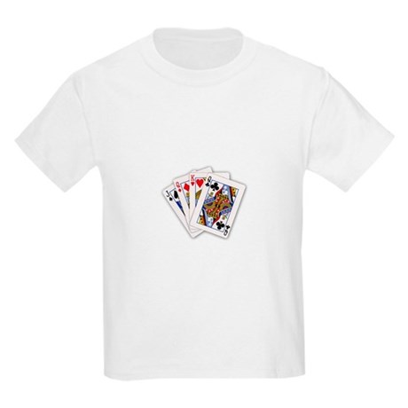 Cool Card Trick Kids Light T-Shirt