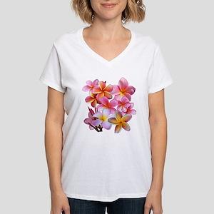 Pink Plumerias T-Shirt