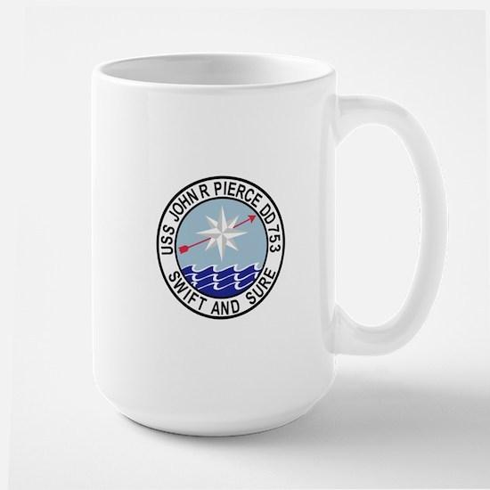 DD-753 USS John R Pierce Destroyer Ship Milit Mugs