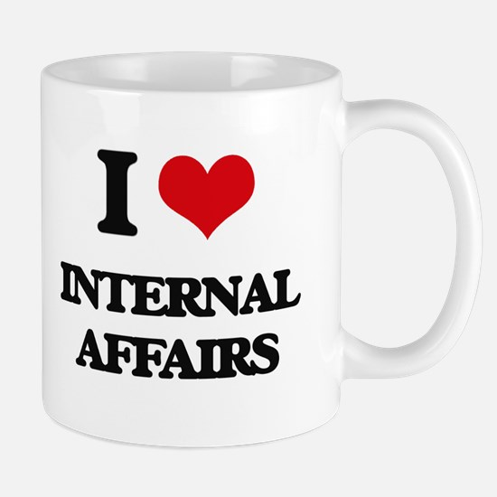 I Love Internal Affairs Mugs