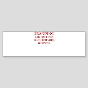branding Bumper Sticker