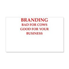 branding Wall Decal