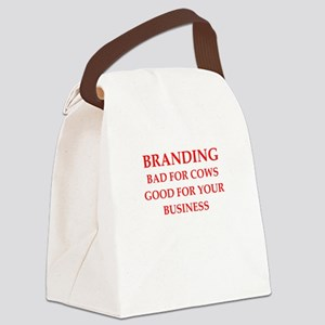 branding Canvas Lunch Bag