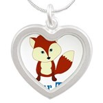 Personalizable Red Fox Necklaces