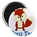 Personalizable Red Fox Magnets