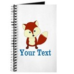 Personalizable Red Fox Journal