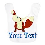 Personalizable Red Fox Bib