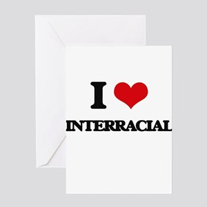 Interracial greeting cards cafepress i love interracial greeting cards m4hsunfo