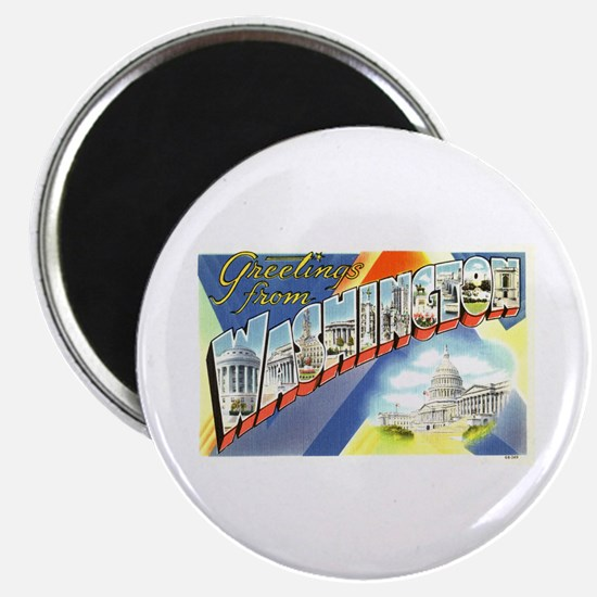 """Greetings from Washington DC 2.25"""" Magnet (10 pack"""