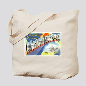 Greetings from Washington DC Tote Bag