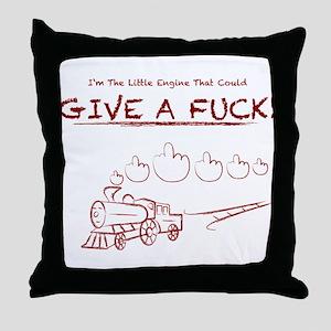 Little Engine Throw Pillow