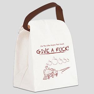 Little Engine Canvas Lunch Bag
