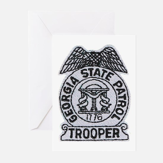 Georgia State Patrol Greeting Cards (Pk of 10)