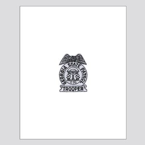 Georgia State Patrol Small Poster