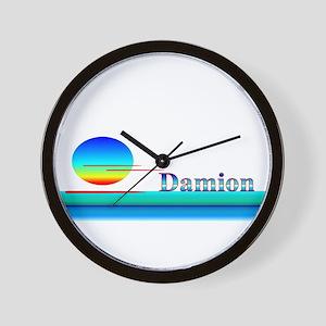 Damion Wall Clock