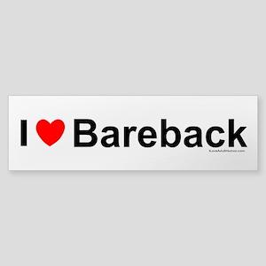 Bareback Sticker (Bumper)