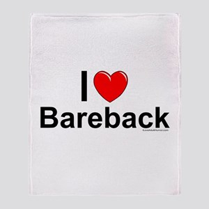 Bareback Throw Blanket