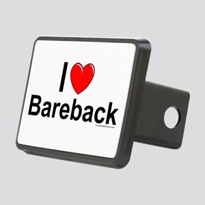 Bareback Rectangular Hitch Cover