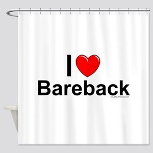 Bareback Shower Curtain
