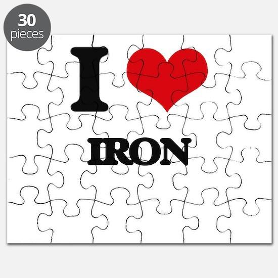 I Love Iron Puzzle
