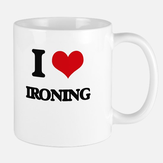 I Love Ironing Mugs
