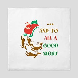 Good Night Queen Duvet