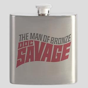 Doc Savage Flask