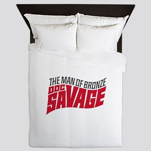 Doc Savage Queen Duvet