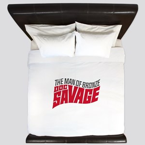 Doc Savage King Duvet