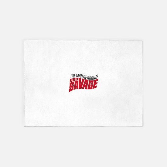 Doc Savage 5'x7'Area Rug