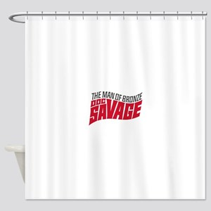 Doc Savage Shower Curtain