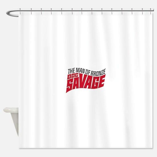 Doc Savage Shower Curtain