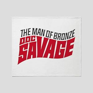 Doc Savage Throw Blanket