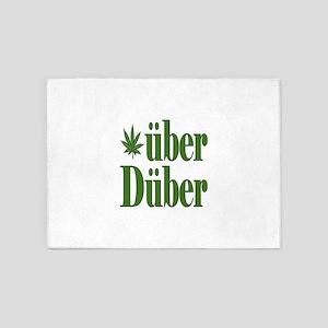 Uber Duber 5'x7'Area Rug